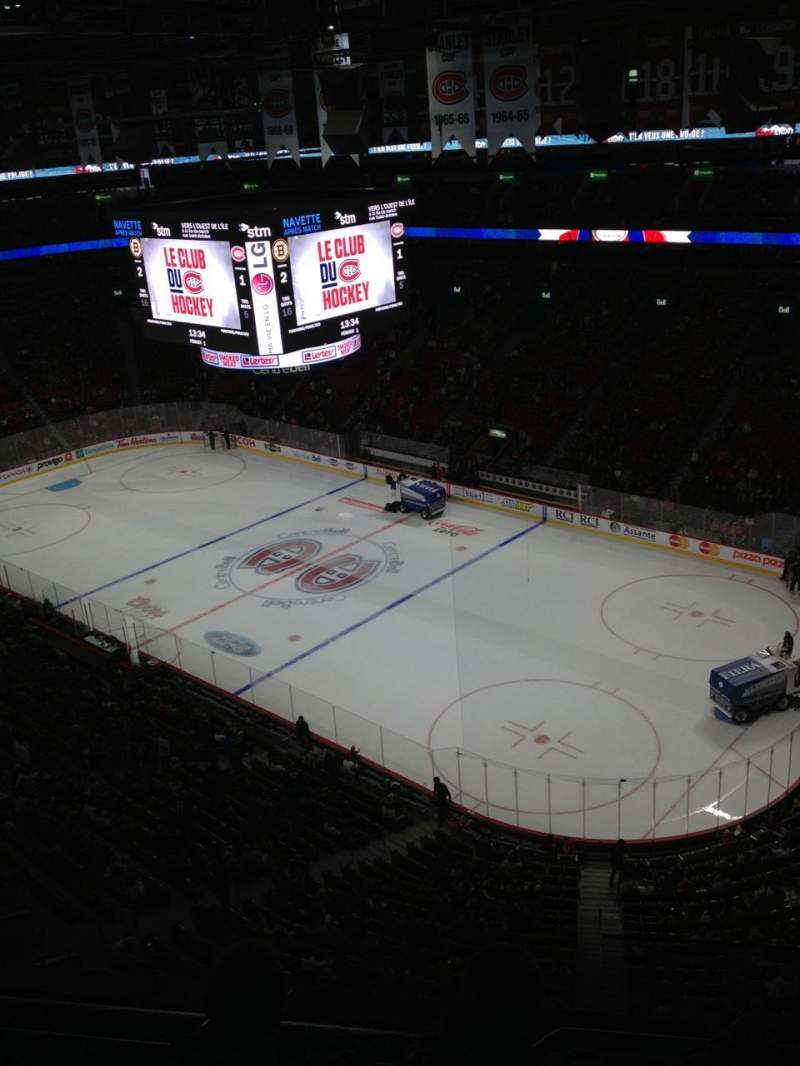 Seating view for Centre Bell Section 315 Row Bb Seat 1