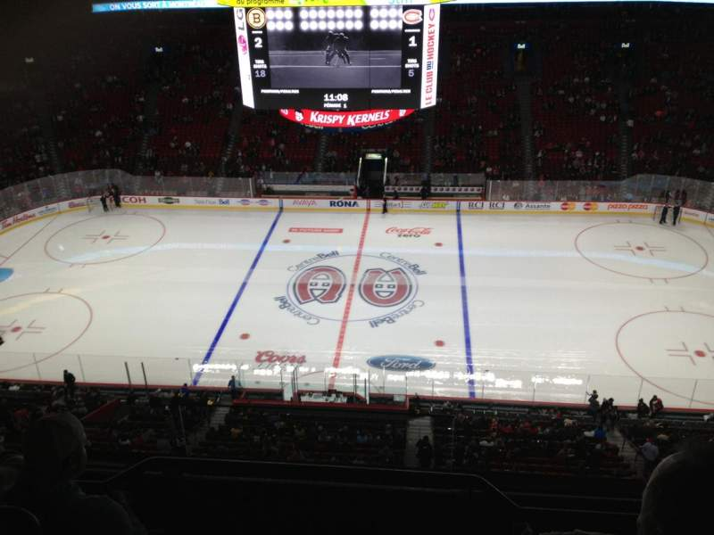 Seating view for Centre Bell Section 319 Row Bb Seat 1