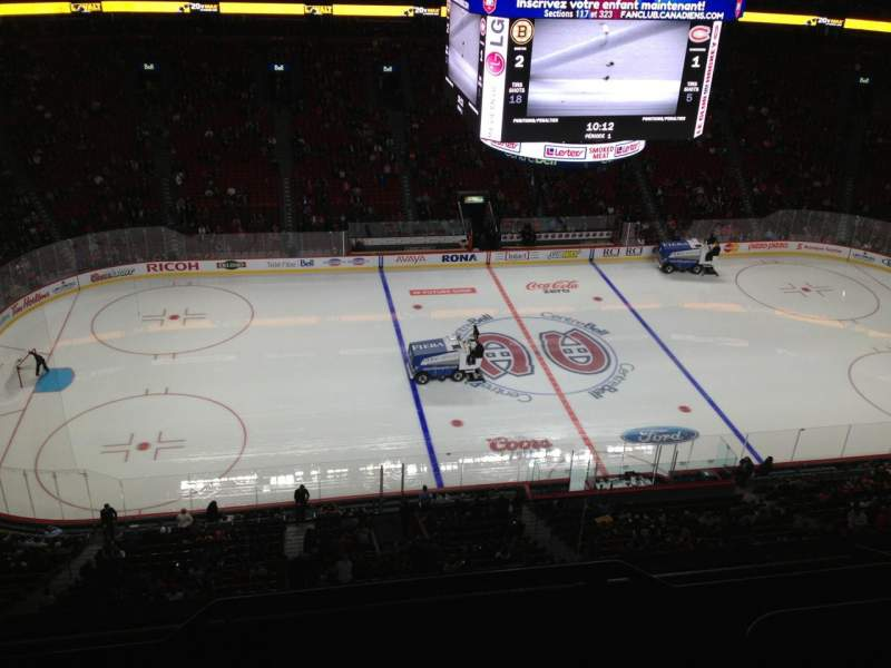 Seating view for Centre Bell Section 317 Row Bb Seat 1