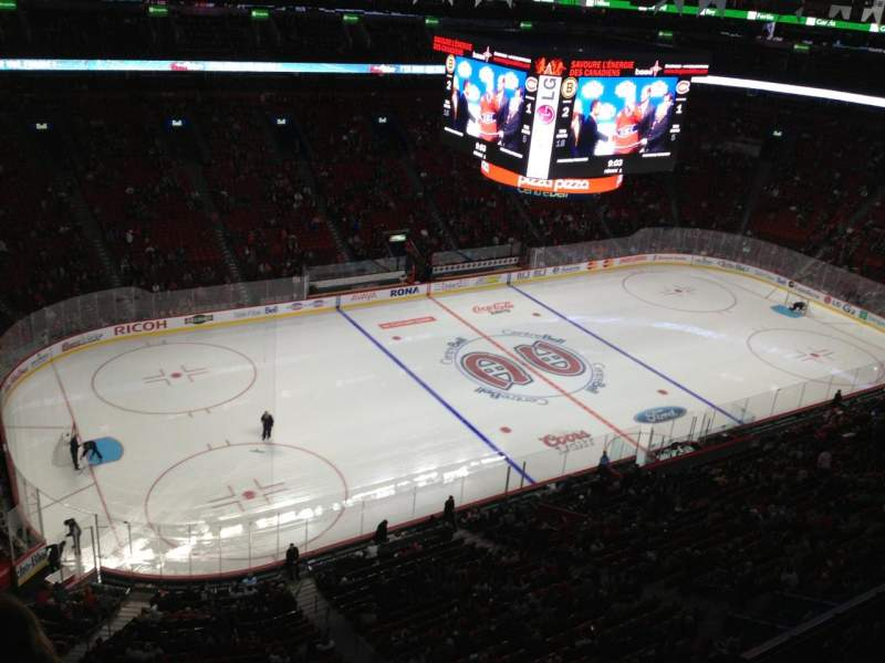 Seating view for Centre Bell Section 323 Row Bb Seat 1