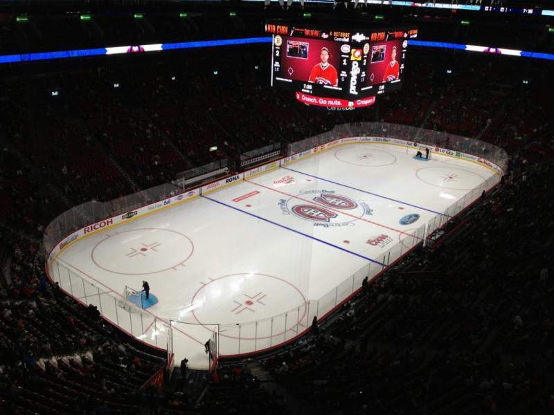 Seating view for Centre Bell Section 325 Row Bb Seat 1