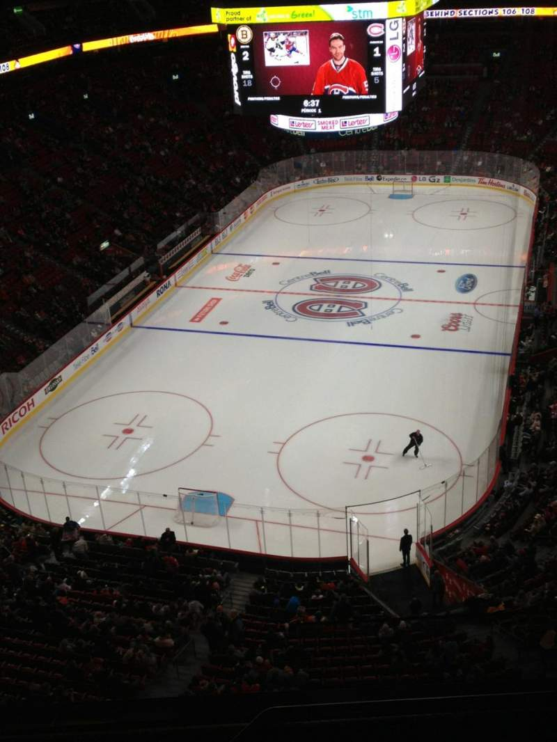 Seating view for Centre Bell Section 327 Row Bb Seat 1
