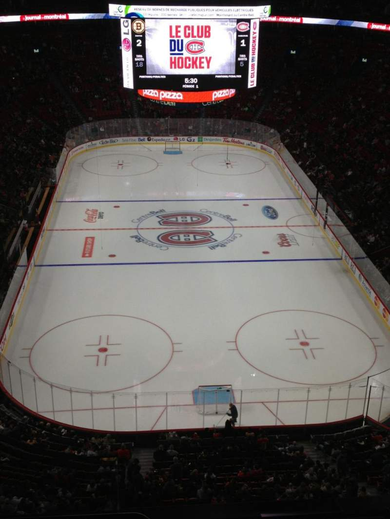 Seating view for Centre Bell Section 328 Row BB Seat 1