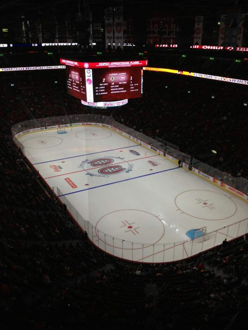 Seating view for Centre Bell Section 331 Row Bb Seat 1