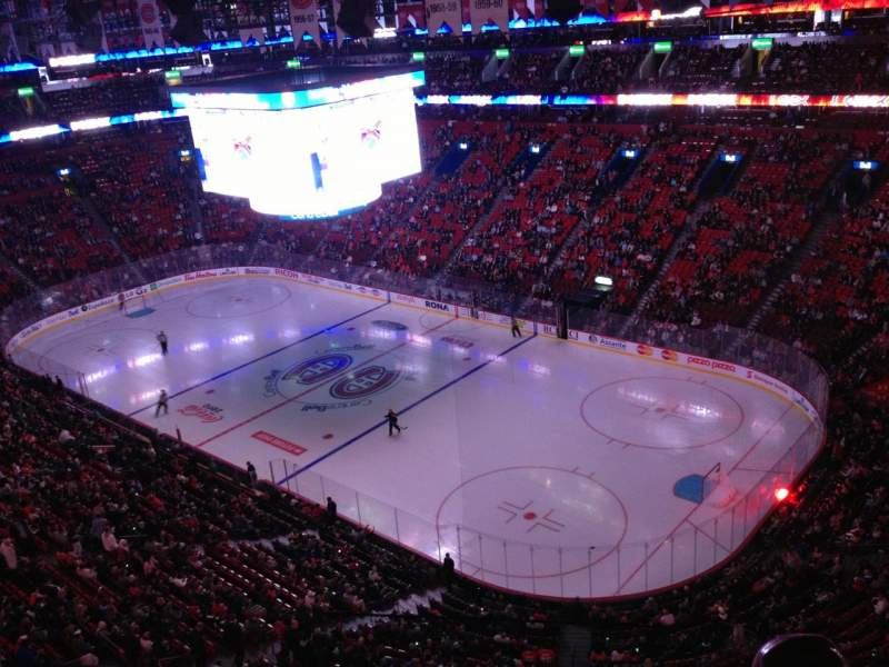 Seating view for Centre Bell Section 332 Row Bb Seat 1
