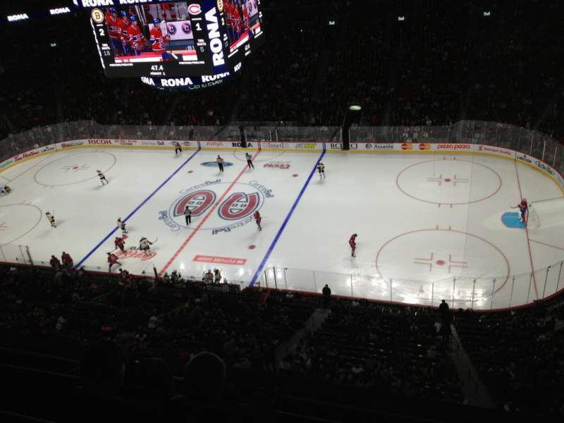 Seating view for Centre Bell Section 335 Row Bb Seat 1