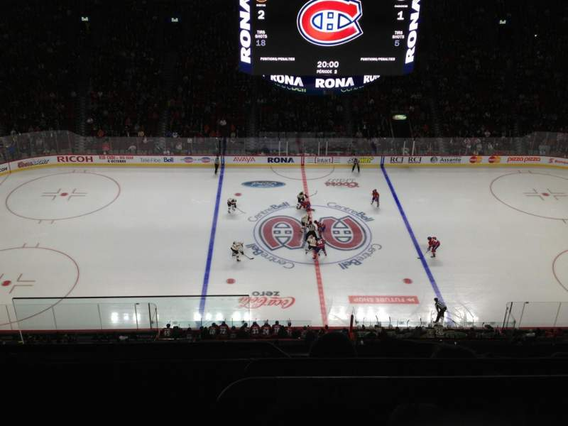 Seating view for Centre Bell Section 302 Row CC Seat 1