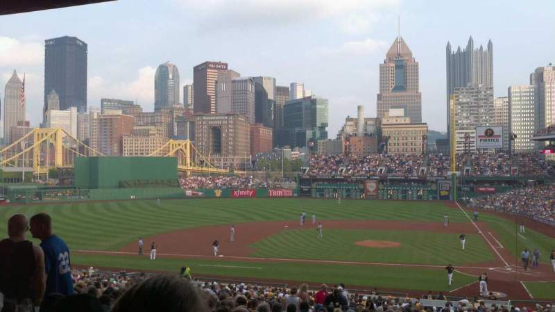 Seating view for PNC Park Section 120 Row ff Seat 11