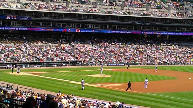 Seating view for Comerica Park Section 116A Row G Seat 1
