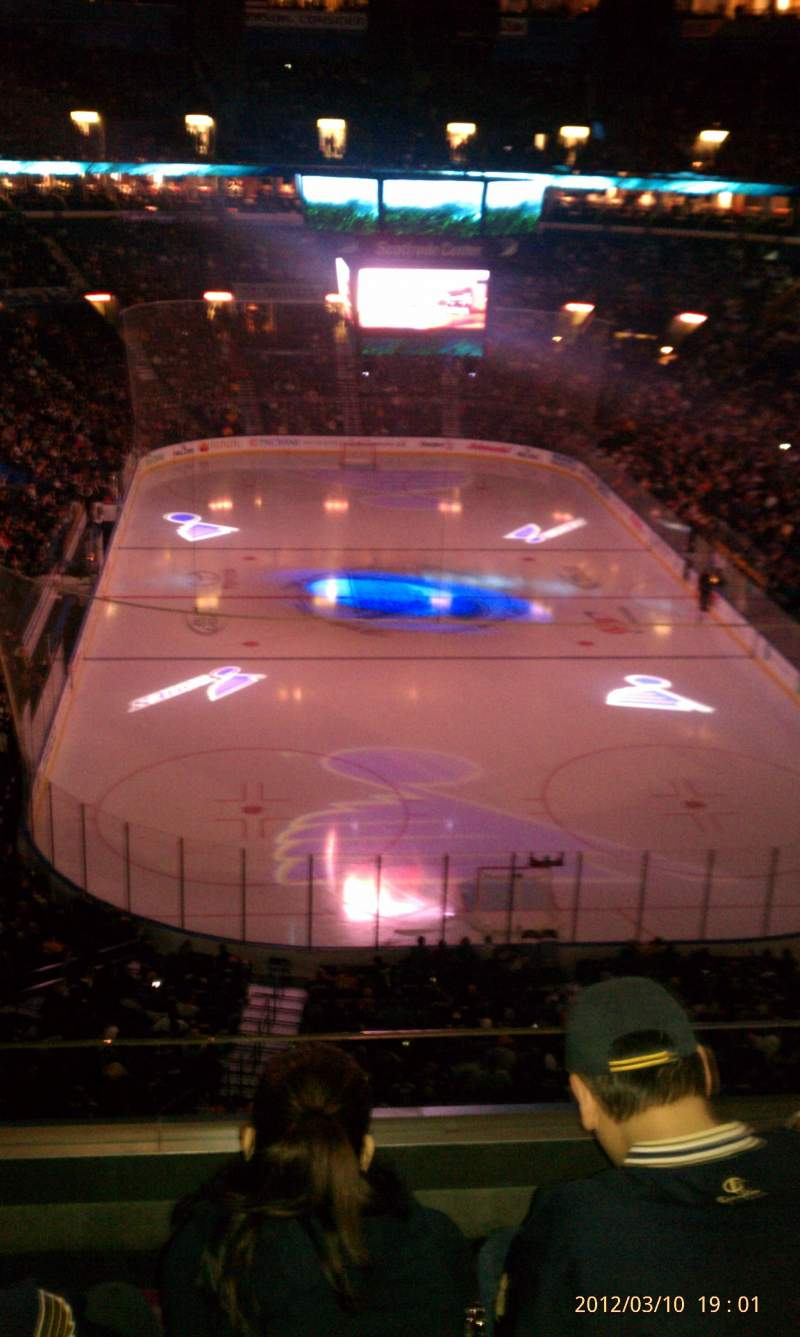 Seating view for Scottrade Center Section 327 Row sro Seat sro