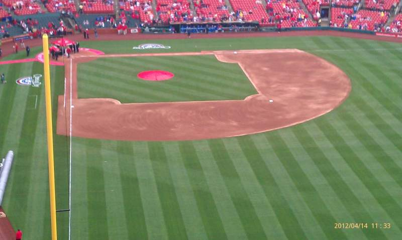 Seating view for Busch Stadium Section 428 Row 11 Seat 26