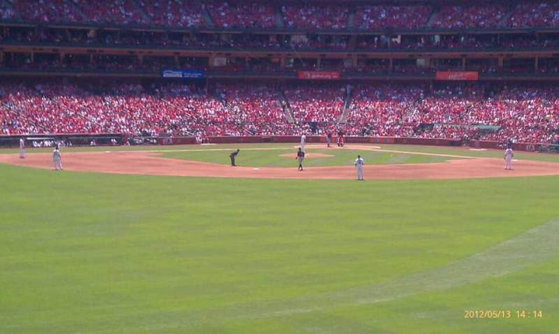 Seating view for Busch Stadium Section 597 Row 12 Seat 4