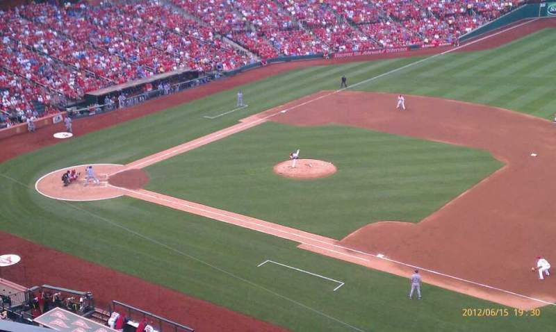 Seating view for Busch Stadium Section 339 Row 3 Seat 10