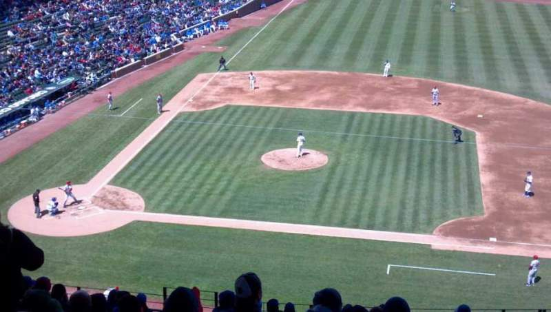 Seating view for Wrigley Field Section 528 Row 4 Seat 6