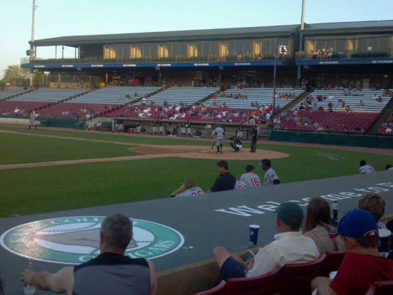 Seating view for Fifth Third Bank Ballpark Section 114 Row E Seat 14