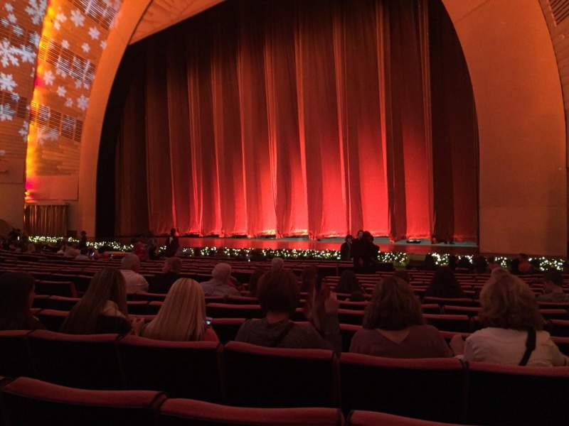 Seating view for Radio City Music Hall Section Orchestra 2 Row SS Seat 204