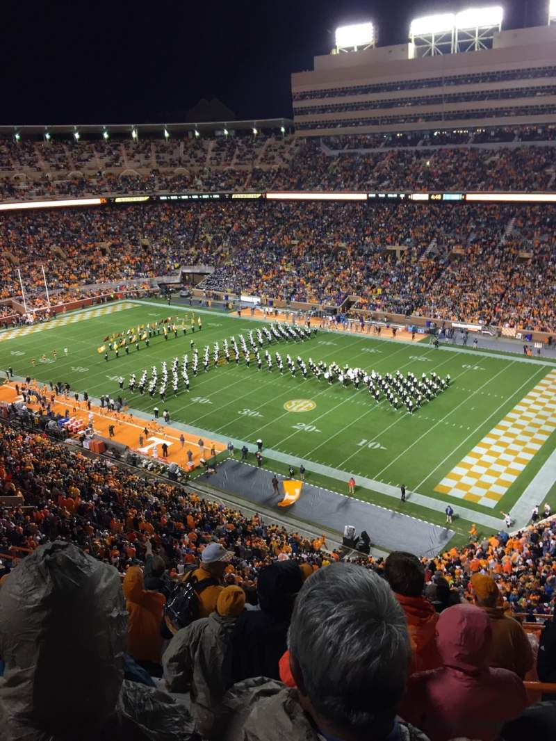 Seating view for Neyland Stadium Section QQ Row 16 Seat 3