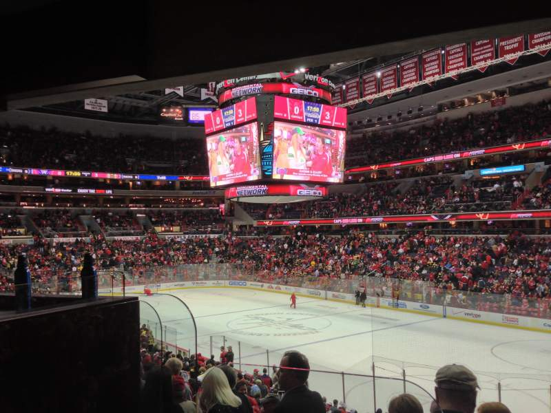 Seating view for Verizon Center Section Box Suite