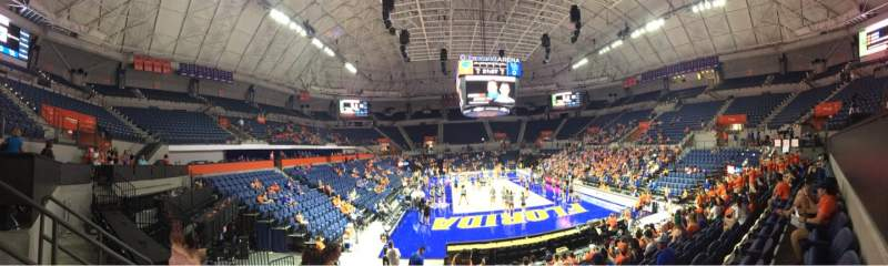 Seating view for Exactech Arena Section 220 Row 6 Seat 11