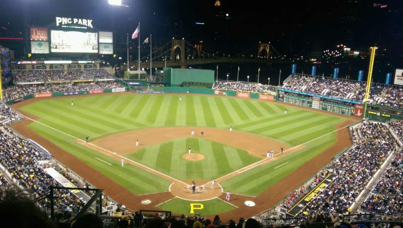 Seating view for PNC Park Section 316 Row Q Seat 18