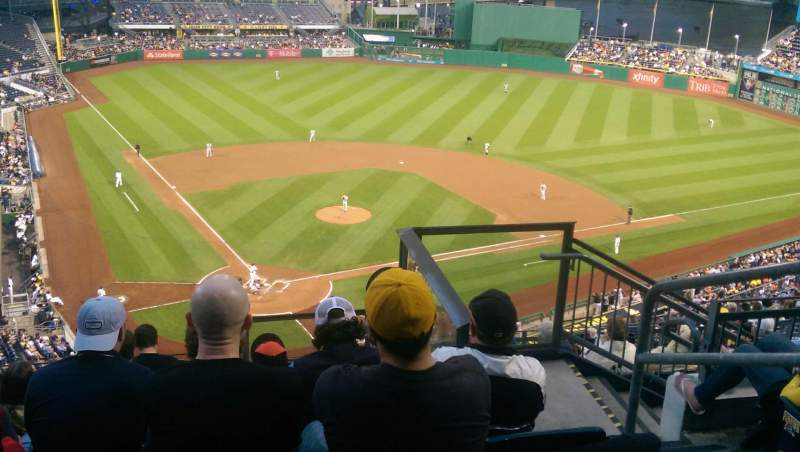 Seating view for PNC Park Section 314 Row N Seat 13