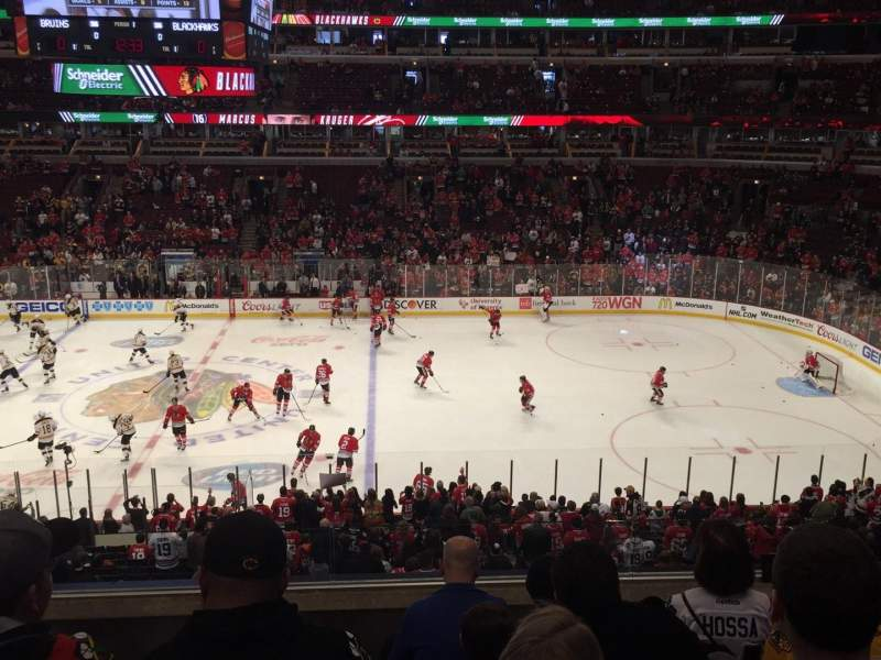 Seating view for United Center Section 217 Row 5 Seat 12