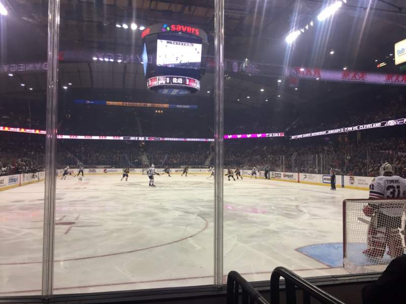 Seating view for Allstate Arena Section 107 Row EE Seat 1