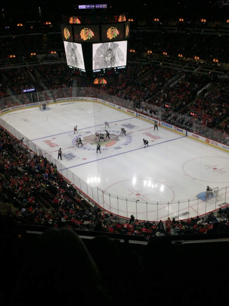 Seating view for United Center Section 312 Row 11 Seat 11