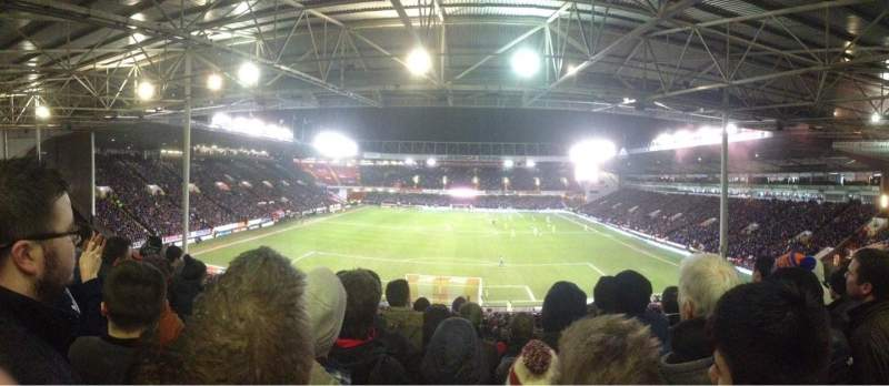 Seating view for Bramall Lane Section Kop Stand Ganway D Row YY Seat 109