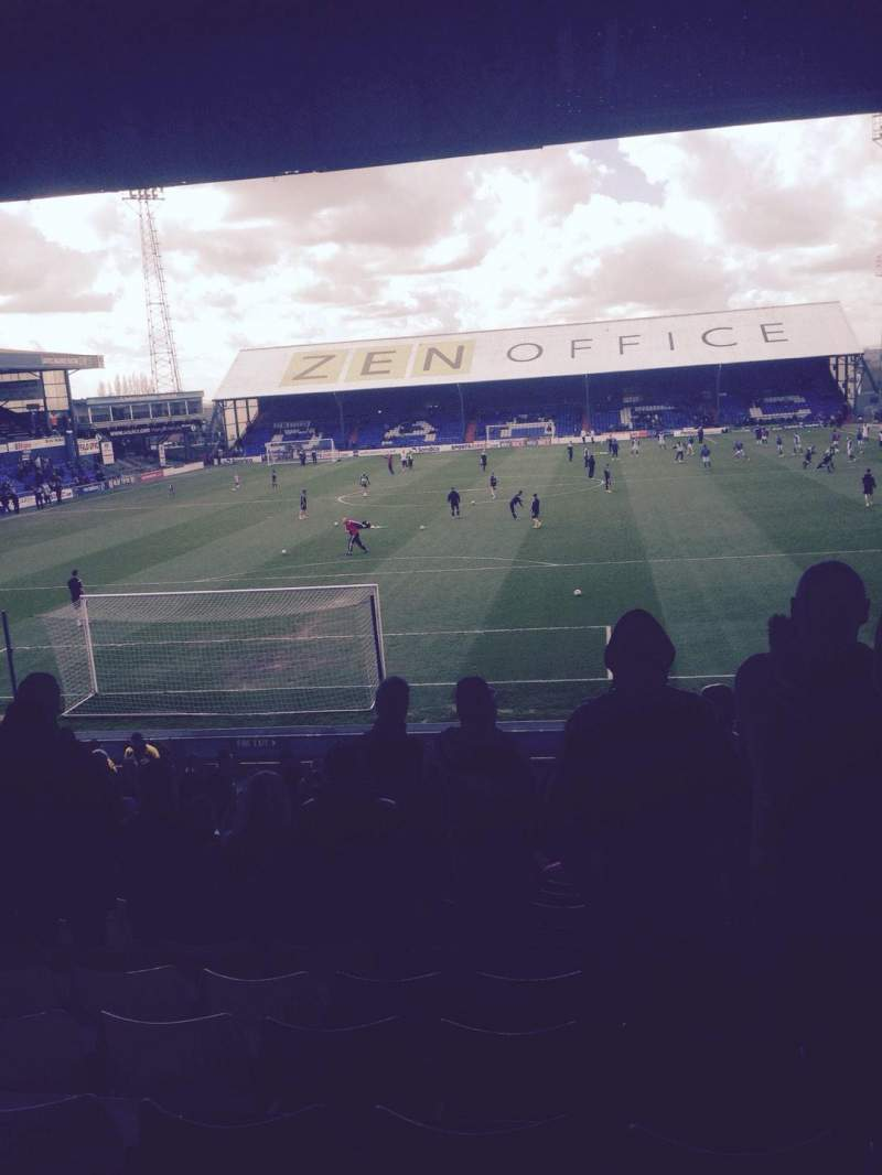 Seating view for Boundary Park Section Rochdale Road End Row Y Seat 70