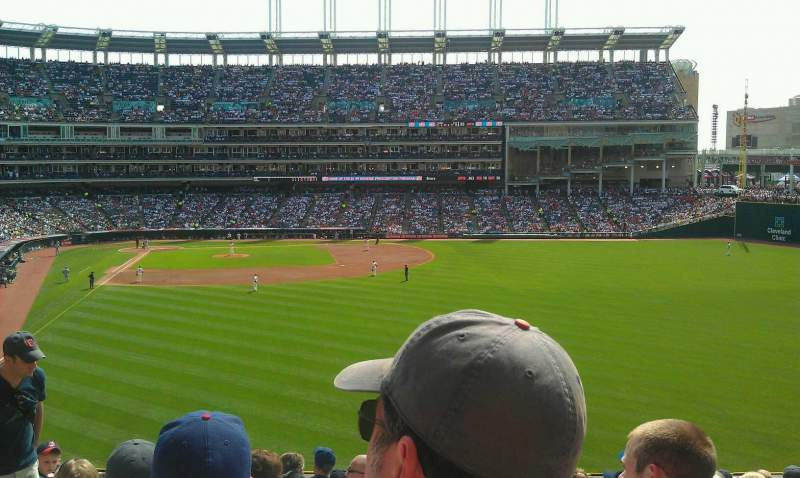 Seating view for Progressive Field Section 309 Row L  Seat 21