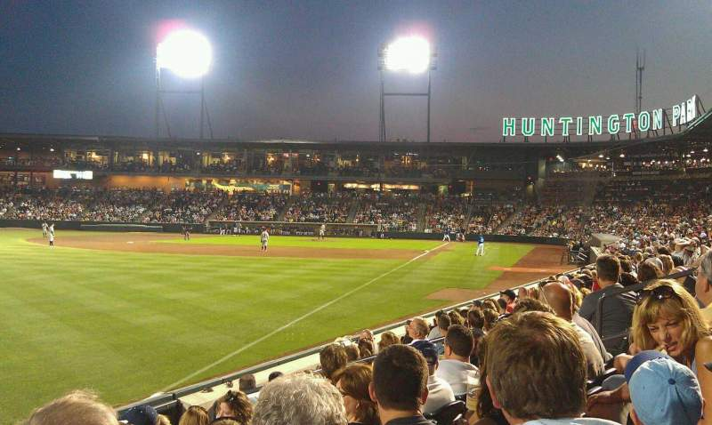 Seating view for Huntington Park Section 24 Row 7 Seat 11