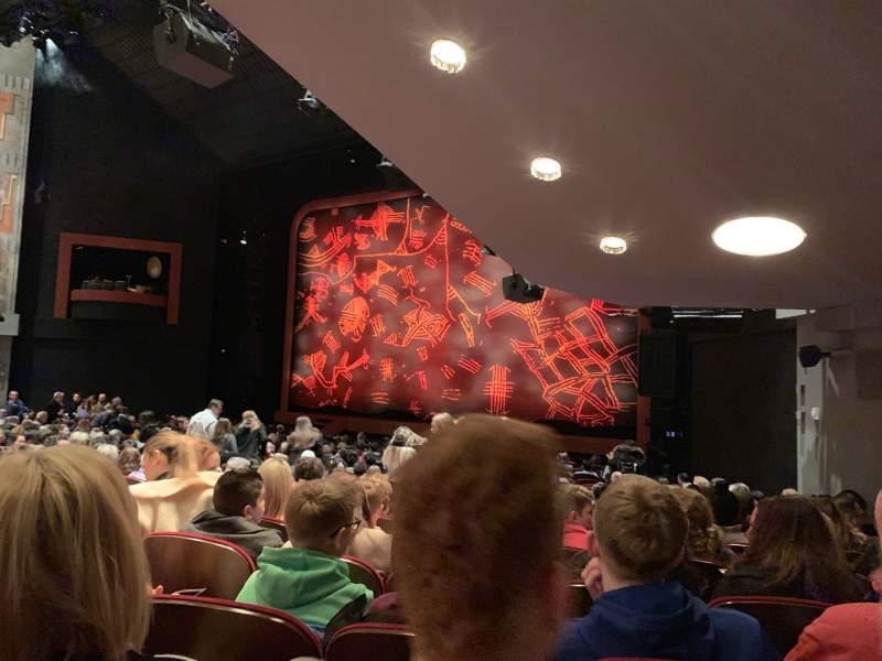 Seating view for Minskoff Theatre Section Orchestra R Row U Seat 16