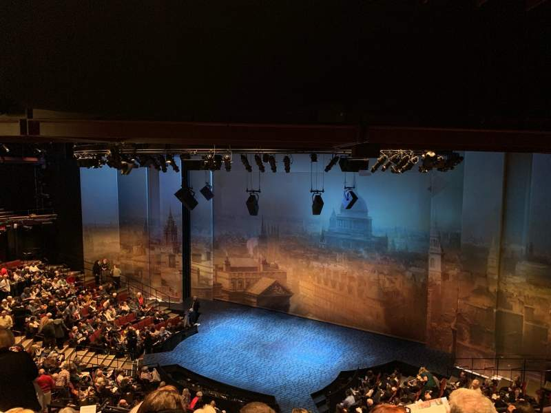 Seating view for Vivian Beaumont Theater Section LOGE RC Row E Seat 410