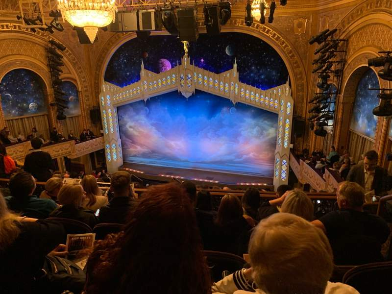 Seating view for Eugene O'Neill Theatre Section Mezzanine R Row J Seat 122