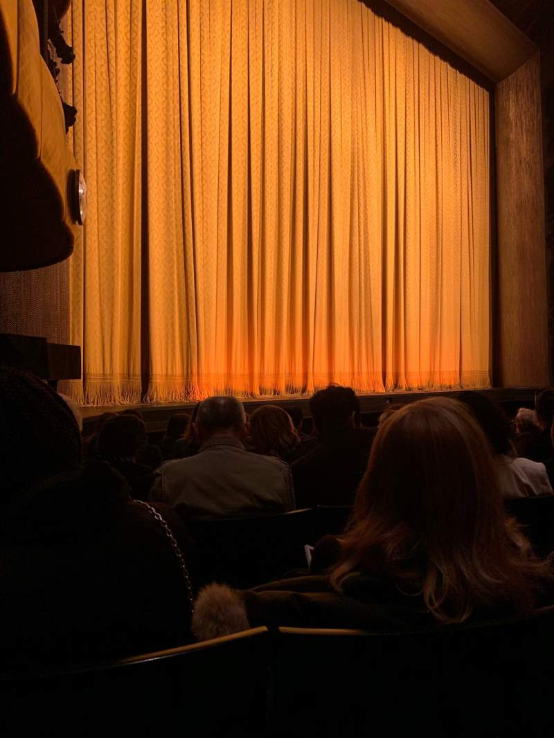 Seating view for David H. Koch Theater Section Left Orchestra Row F Seat 29