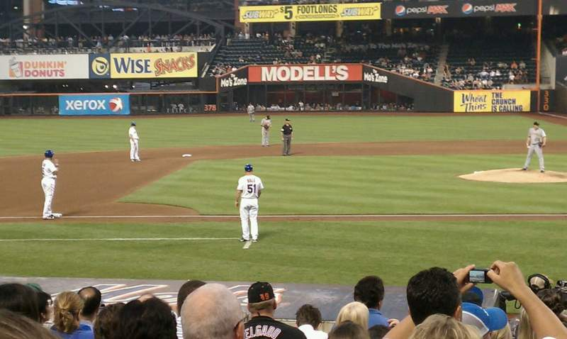 Seating view for Citi Field Section 121 Row 13 Seat 10