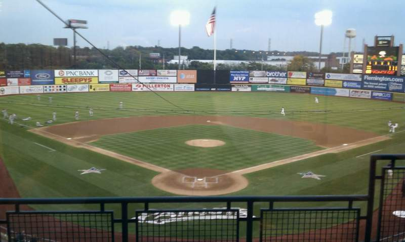 Seating view for TD Bank Ballpark Section Suite 301 Row B Seat 1