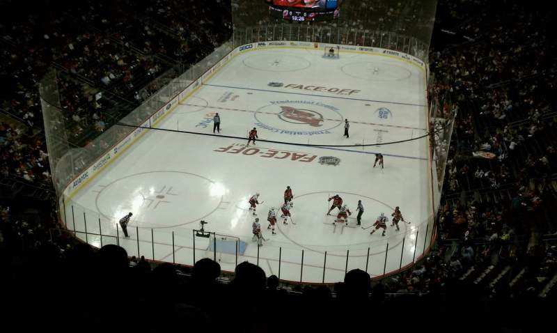 Seating view for Prudential Center Section 104 Row 10 Seat 8