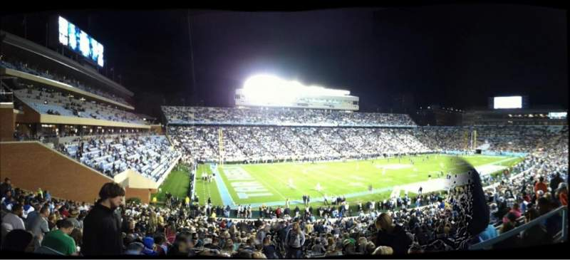 Seating view for Kenan Memorial Stadium Section 100