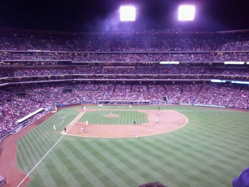 Seating view for Citizens Bank Park Section 303 Row 2 Seat 20