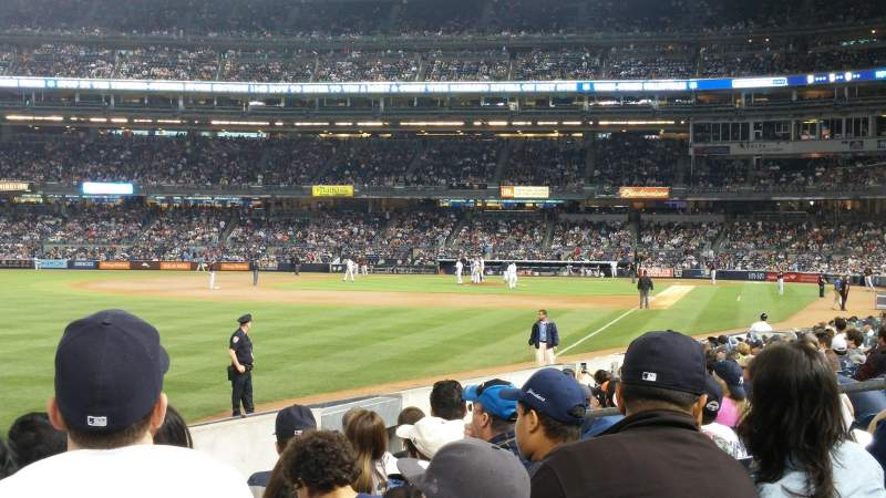 Seating view for Yankee Stadium Section 131 Row 13 Seat 10