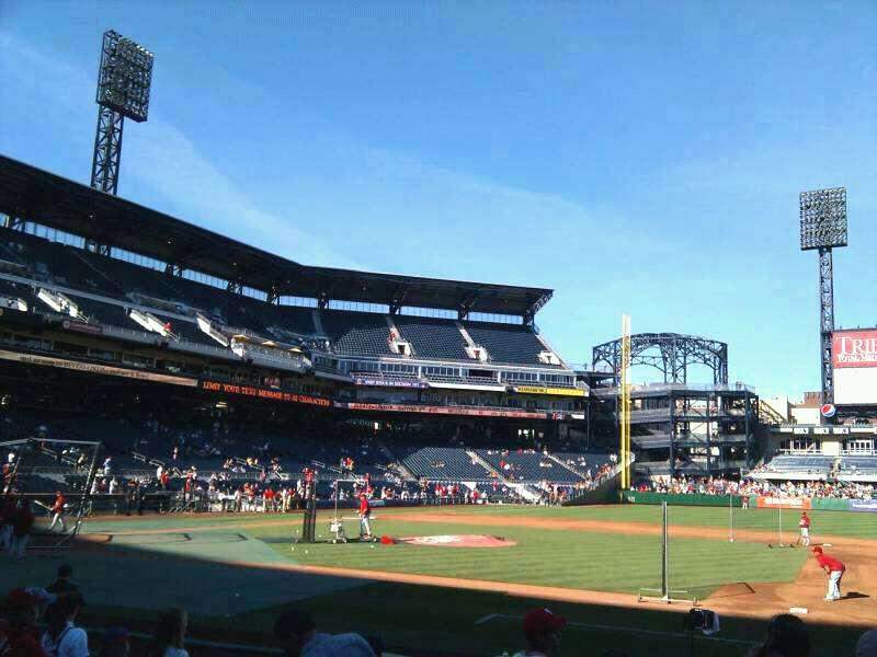 Seating view for PNC Park Section 9 Row J Seat 3