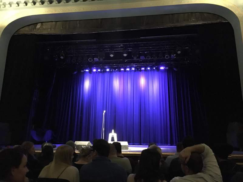 Seating view for Danforth Music Hall Section ORCH1 Row F Seat 21