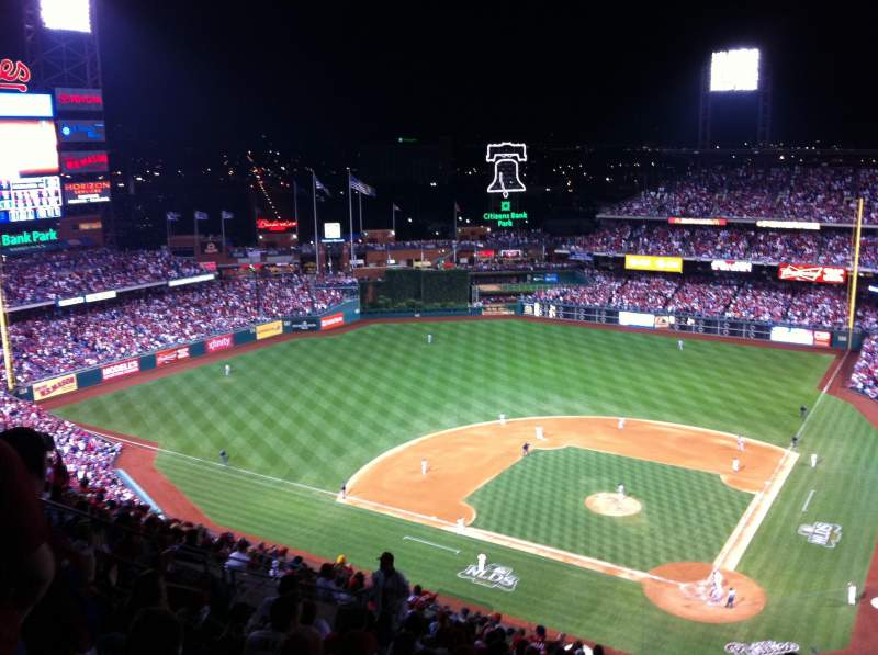 Citizens Bank Park, section: 423, row: 16, seat: 16