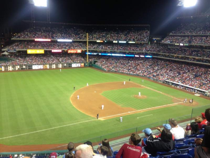 Citizens Bank Park, section: 329, row: 7, seat: 15