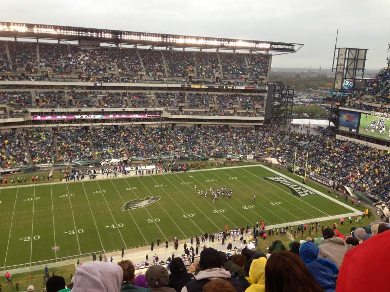 Lincoln Financial Field, section: 224, row: 15, seat: 26