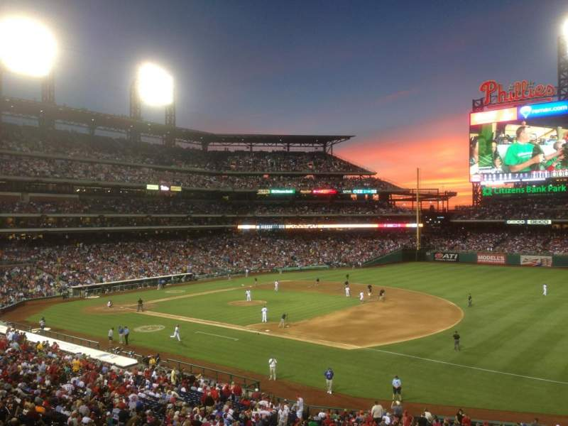 Seating view for Citizens Bank Park Section Suite 57