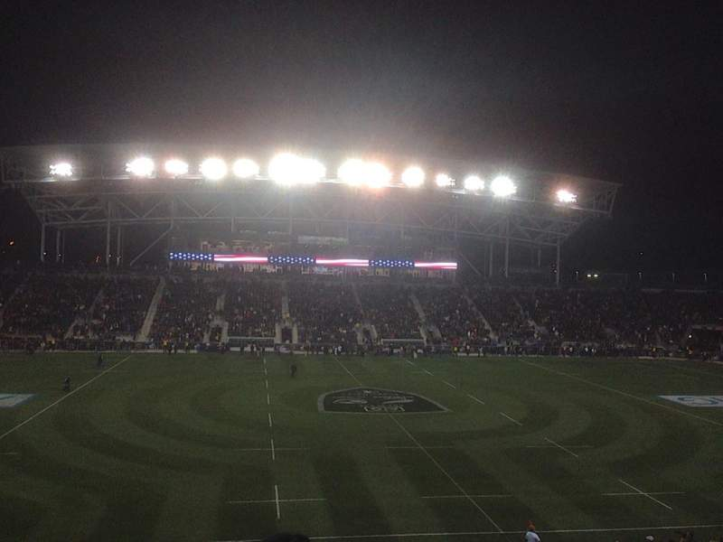 Seating view for Talen Energy Stadium Section 128 Row BB Seat 9