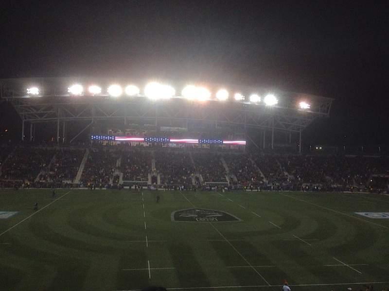 Talen Energy Stadium, section: 128, row: BB, seat: 9